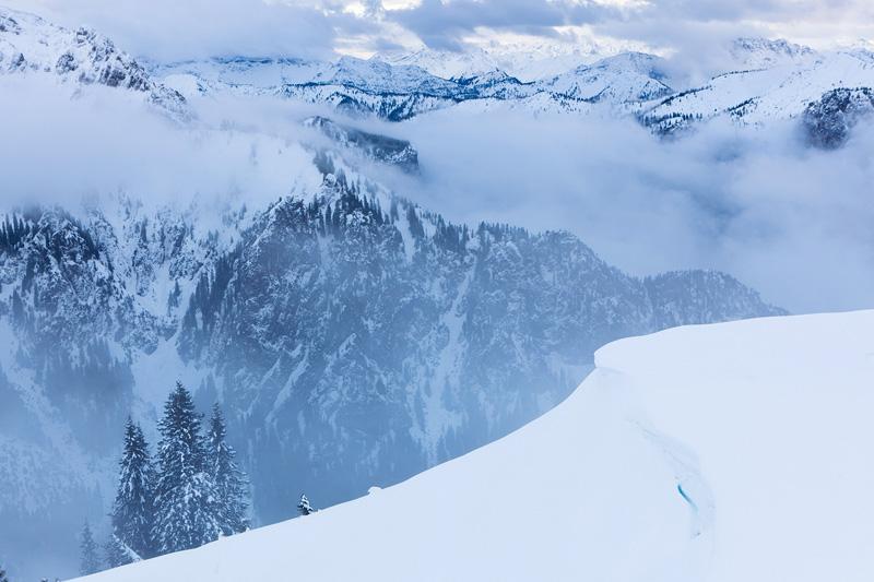 Blick über das Ammergebirge