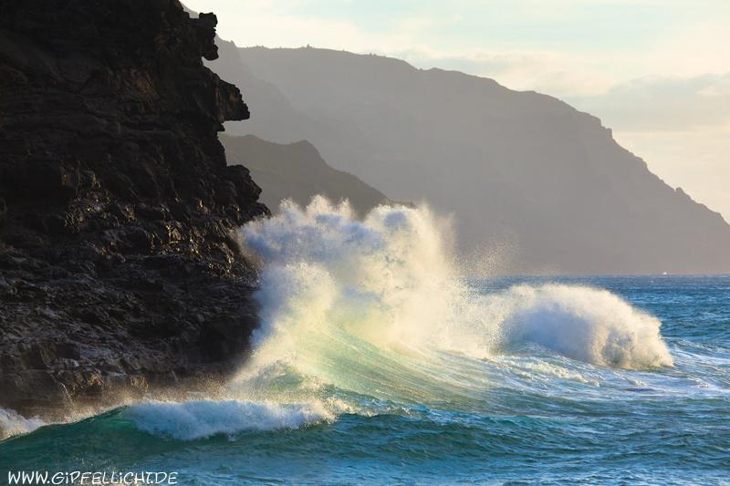 Klippen bei der Na Pali Küste