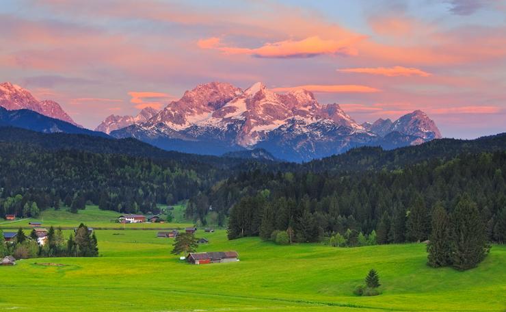 Mittwoch: Buckelwiesen bei Krün